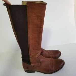 Frye size 8.5 leather boots